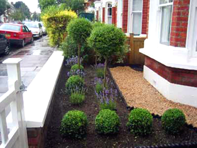 Front garden before and after for Back garden designs before and after